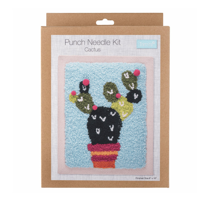 Punch needle Kit: Cactus