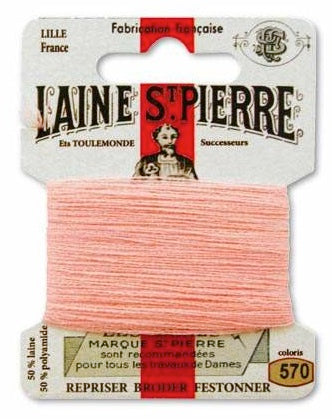 Laine St Pierre Darning Wool Salmon 570