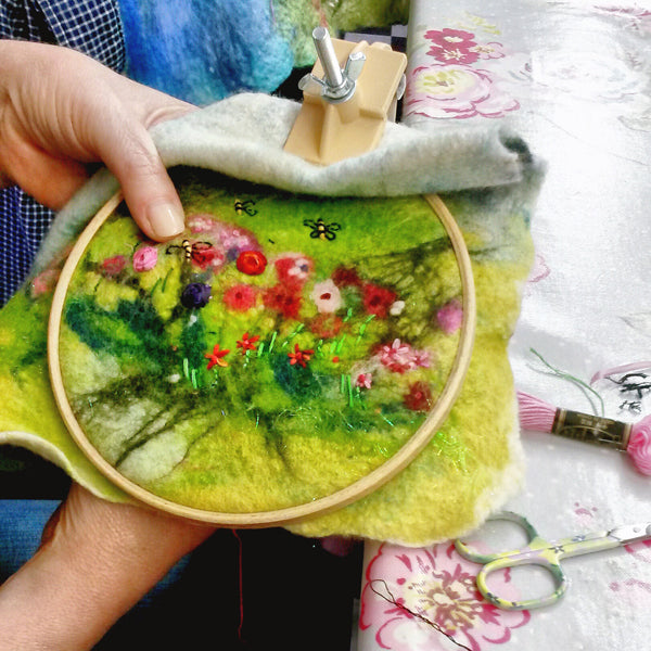 2 hours Private Embroidery Workshop Session