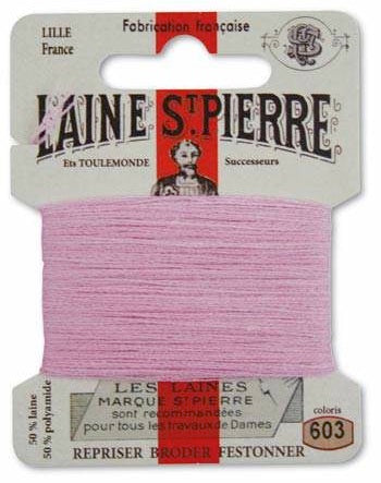 Laine St Pierre Darning Wool Cyclamen 603