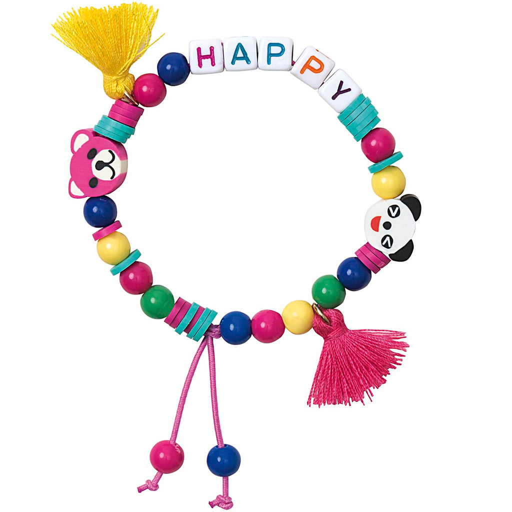 Mini Bead Bracelet Kit : Happy