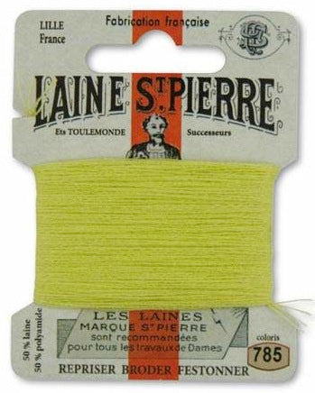 Laine St Pierre Darning Wool Lime 785