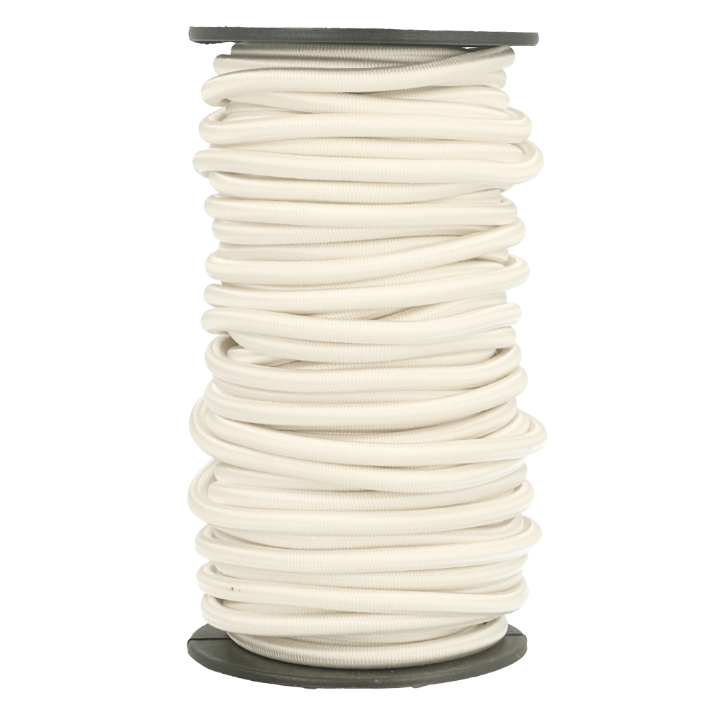 White Elastic Cord 5mm x 1m