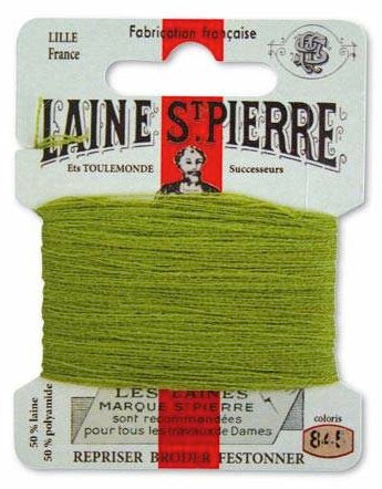 Laine St Pierre Darning Wool Fern 845