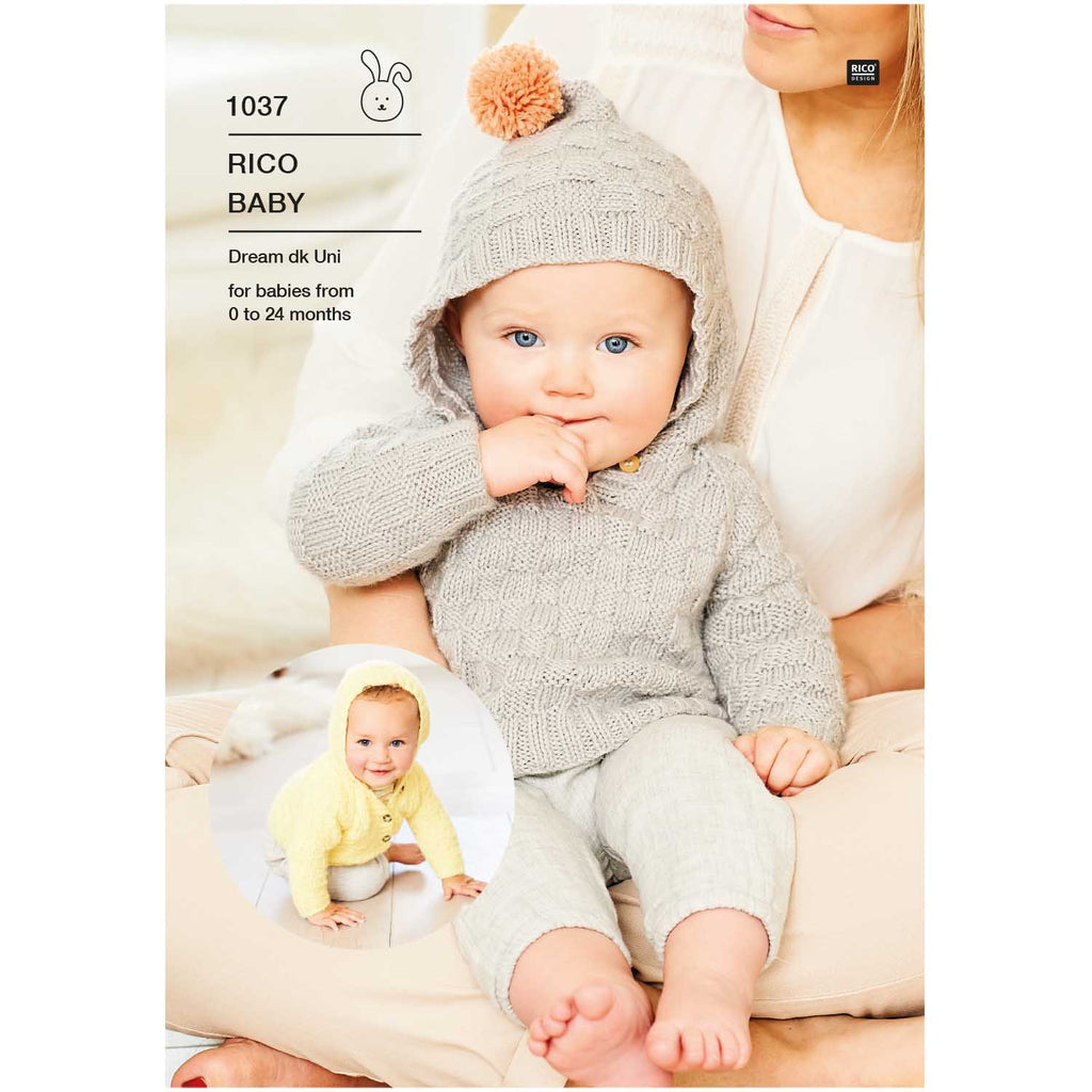 Baby Dream Uni Pattern 1037 Sweater & jacket