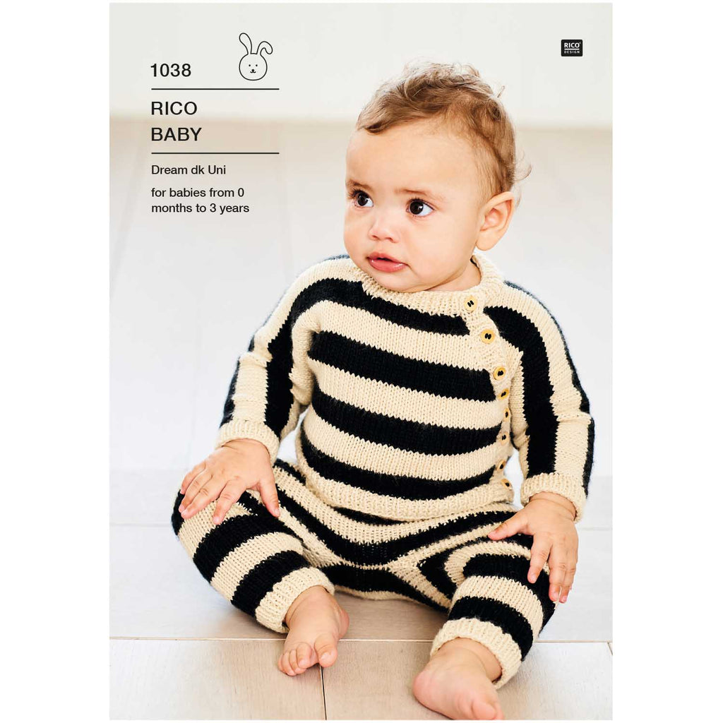 Baby Dream Uni Pattern 1038 Cardigan & Leggings
