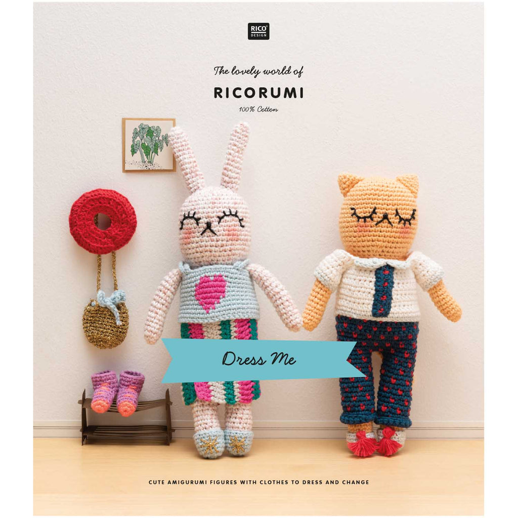 Ricorumi Dress Me Pattern Book
