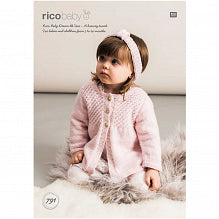 Baby Dream Uni Pattern 791 Jacket & Headband