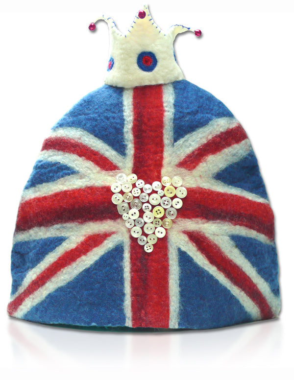Right Royal Cuppa Tea Cosy Wet Felting Kit