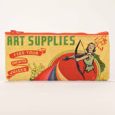Art Supplies Pencil Case