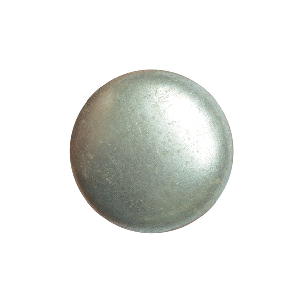 Metal Button Shank 20mm Old Silver