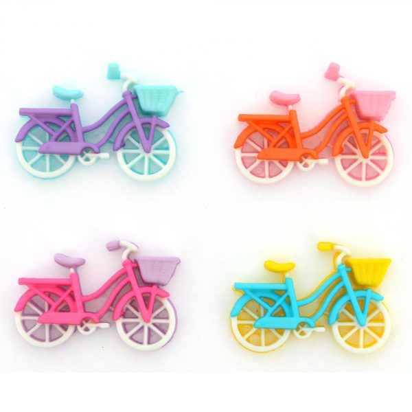 Bike Ride Dress it Up Button Pack