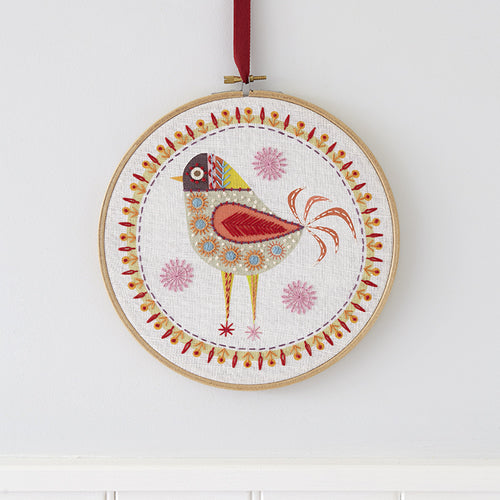 Bird 4 Embroidery Kit
