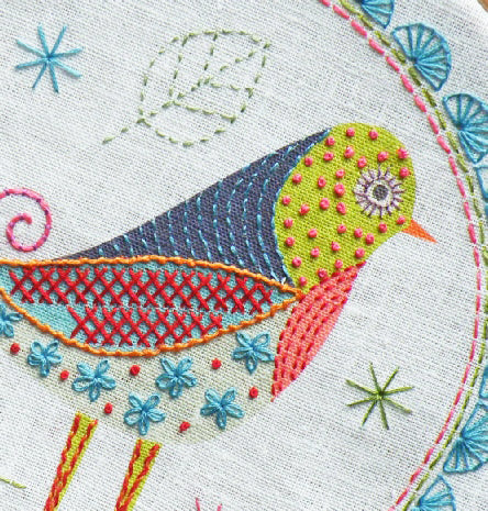 Bird 1 Embroidery Kit
