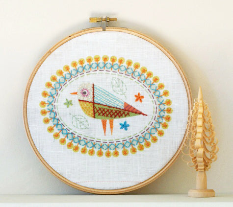 Bird 2 Embroidery Kit