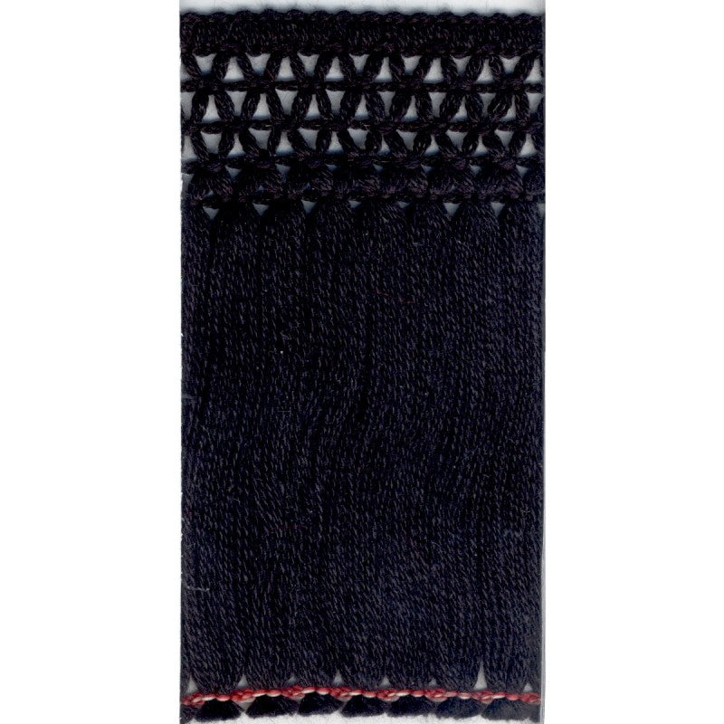 Black Cotton Fringe 100mm per metre