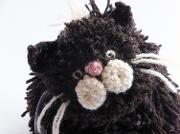 Black Cat Tea Cosy Crochet Kit