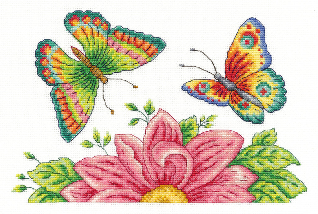 Butterfly Garden Cross Stitch Kit