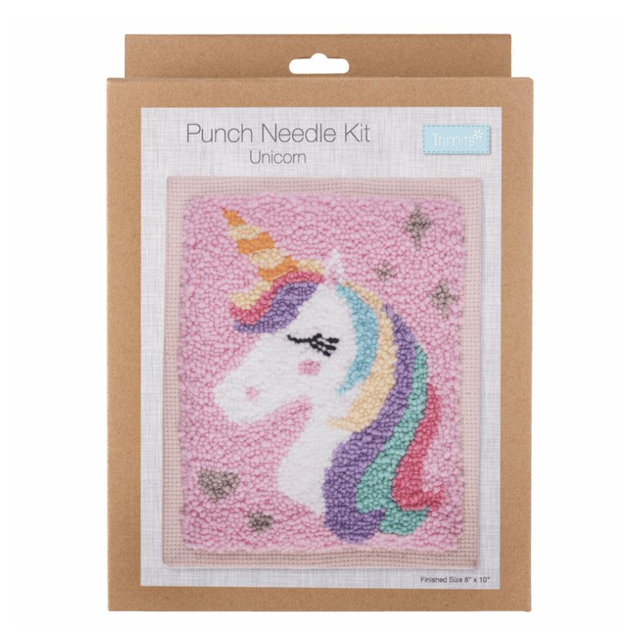 Punch Needle Kit: Unicorn