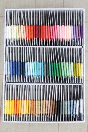 Complete Collection 96 Retors du Nord Embroidery Cottons in Box