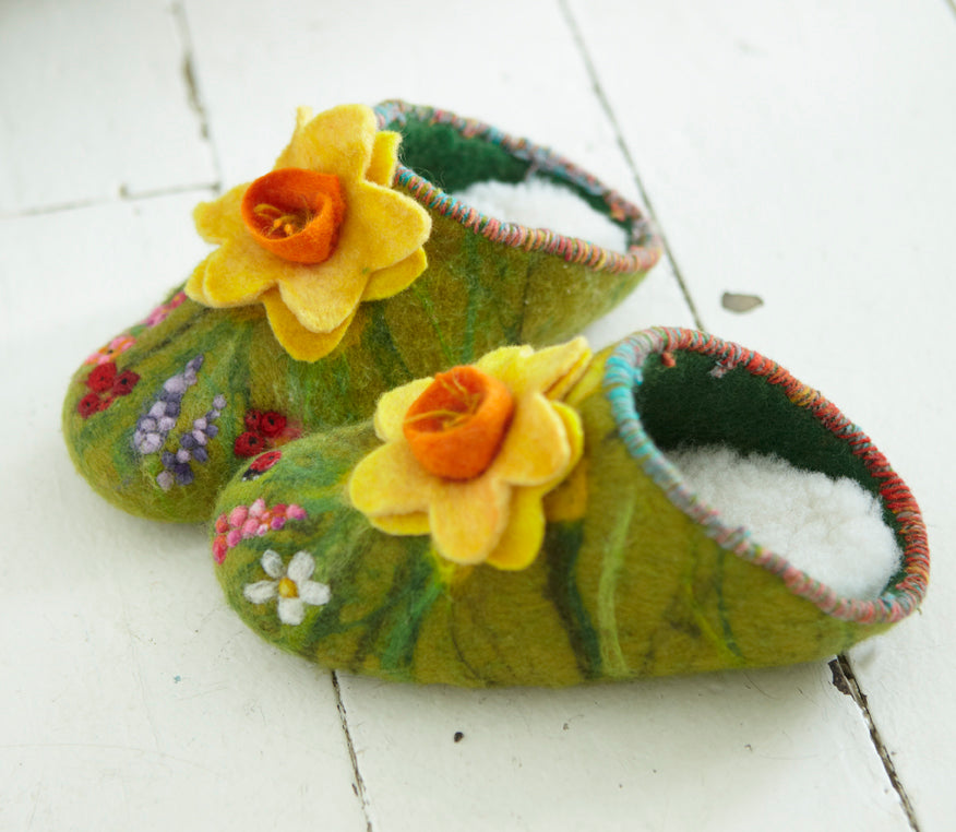Online Felt Slipper Course