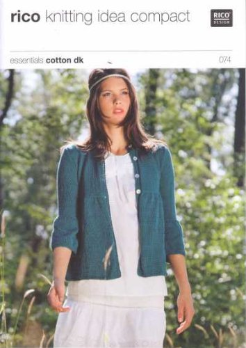 Rico Cardigan Knitting Pattern 074
