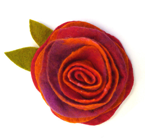 Sunset Sorbet Felting Corsage Kit