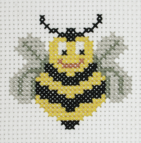 Cross Stitch Kit: 1st Kit: Bee