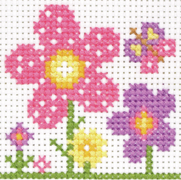 Cross Stitch Kit: 1st Kit: Sarah