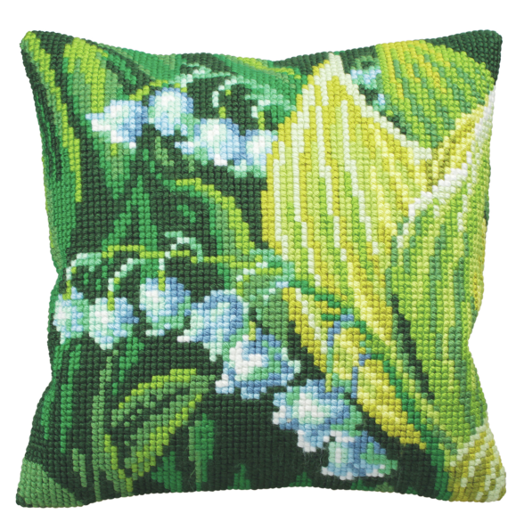 Cross Stitch Kit: Cushion: Lily of Valley