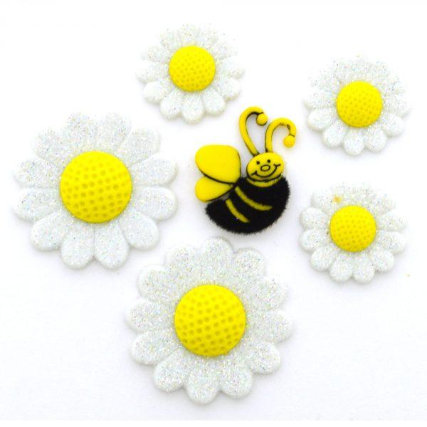 Daisy Dress it Up Button Pack
