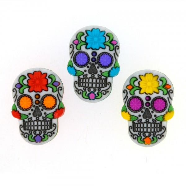 Day of the Dead Dress it Up Button Pack