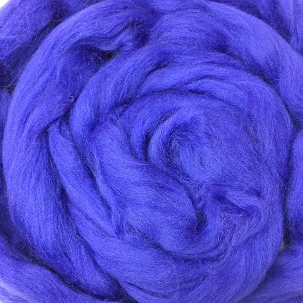 100g Delphinium Merino wool tops for felting & giant knitting