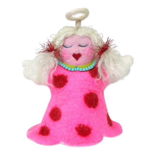Felt Tree Topper : Divine Delilah Angel Complete Wet Felting Kit