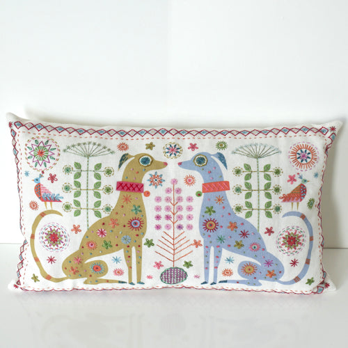 Dogs Cushion Embroidery Kit