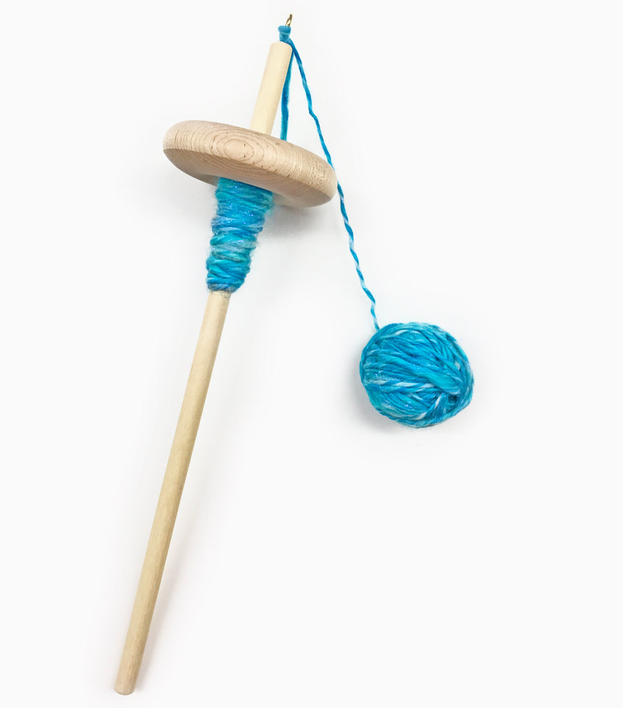 Drop Spindle Spinning Kit Give Us a Twirl : Three