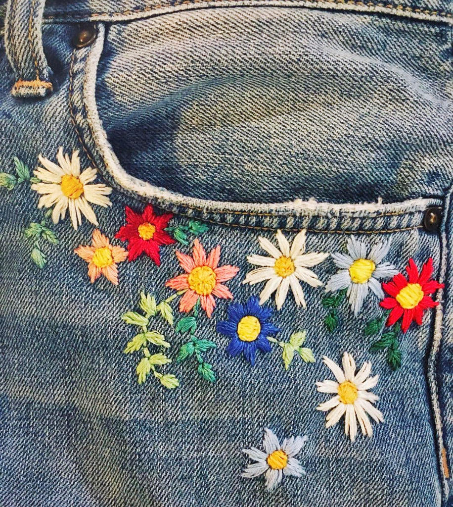 Upcycle Your Denim : Hand Embroidery Workshop 23/2/20