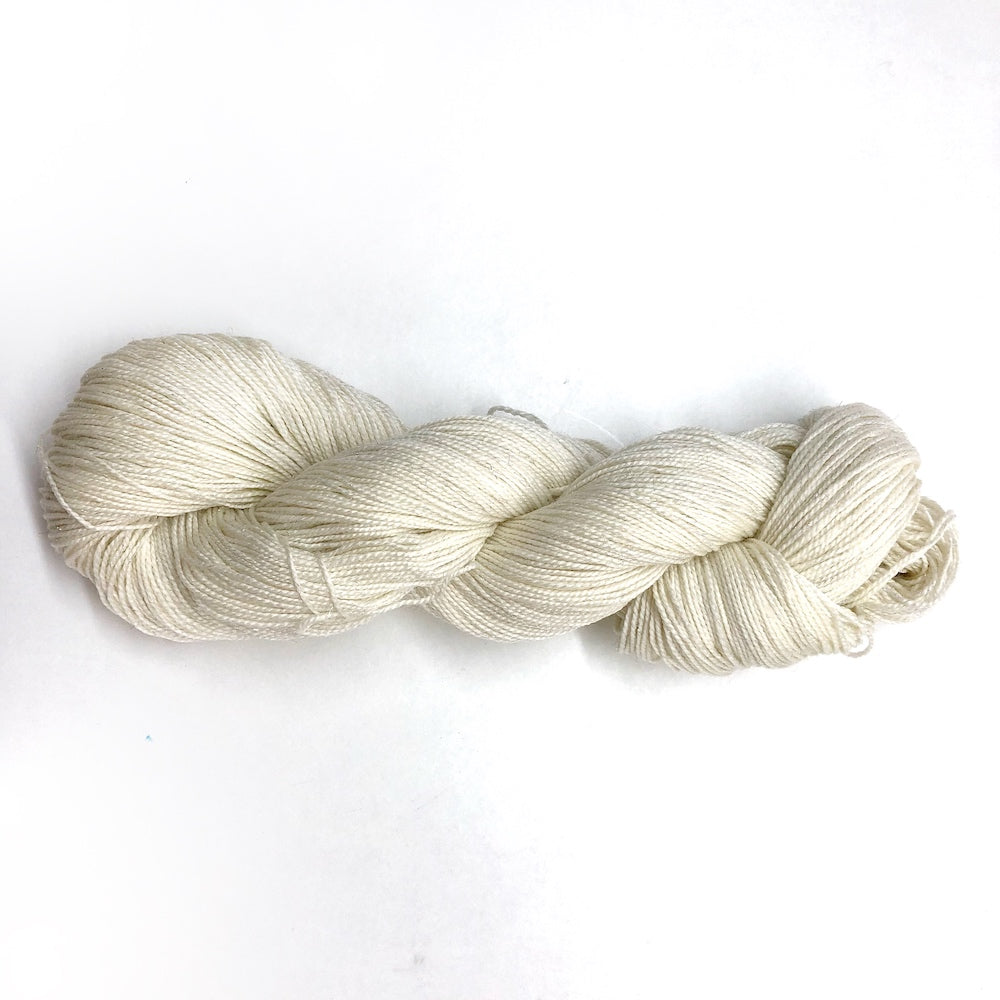 Un-dyed Superwash 4 ply SPARKLE Sock Yarn 100g