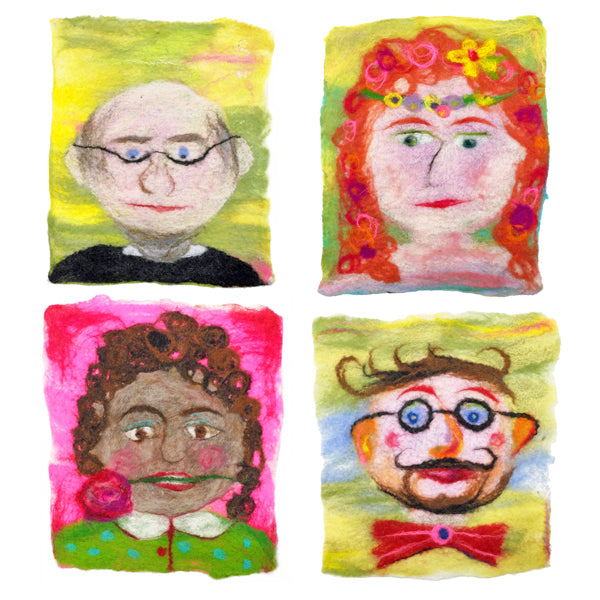 COMPLETE Felt Selfies Wet Felting Kit