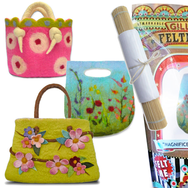 Bag Kits Felting Bundle - save over 25%