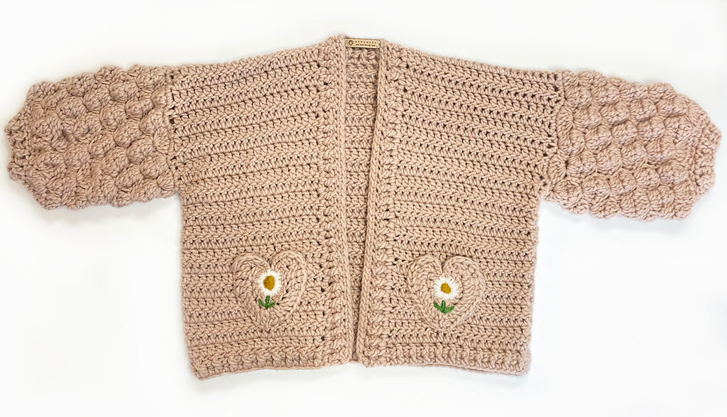 """Fir Cone Cardigan"" Pattern  (Crochet-A-Cardi-Club pattern AW2020)"