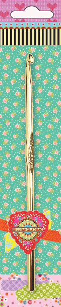 Gilliangladrag Crochet Hook 6mm x 15cm turquoise