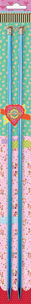 Knitting Needles ALUM 9mm x 25cm pink