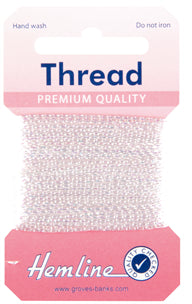 Glitter Thread White