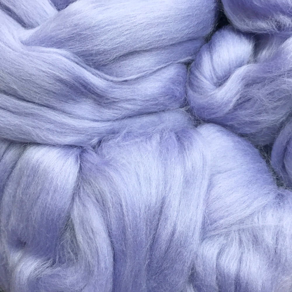 100g Heather Mist Merino wool tops for felting & giant knitting