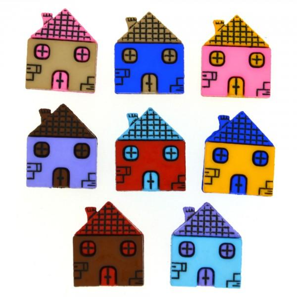 Houses Dress it Up Button Pack