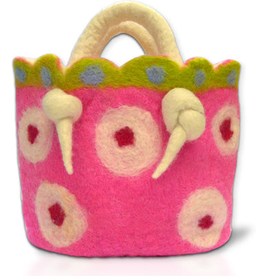Ickle-Pickle Fairy Basket Felting Bag Kit