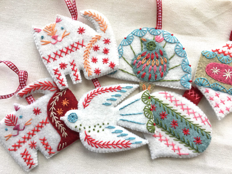 The Bauble Collection Embroidery Kit