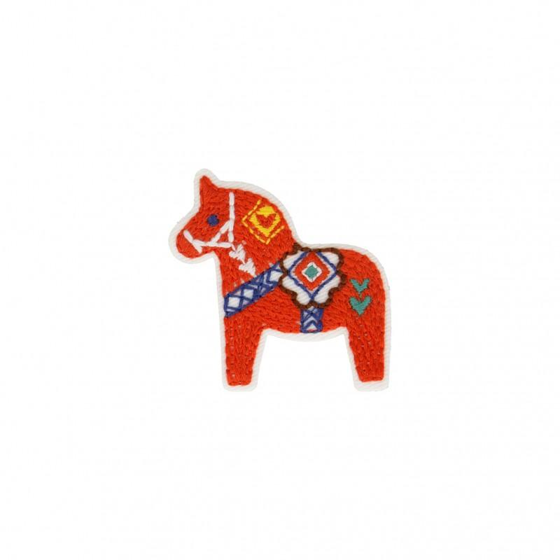 Iron On Folk Art Horse 5cm