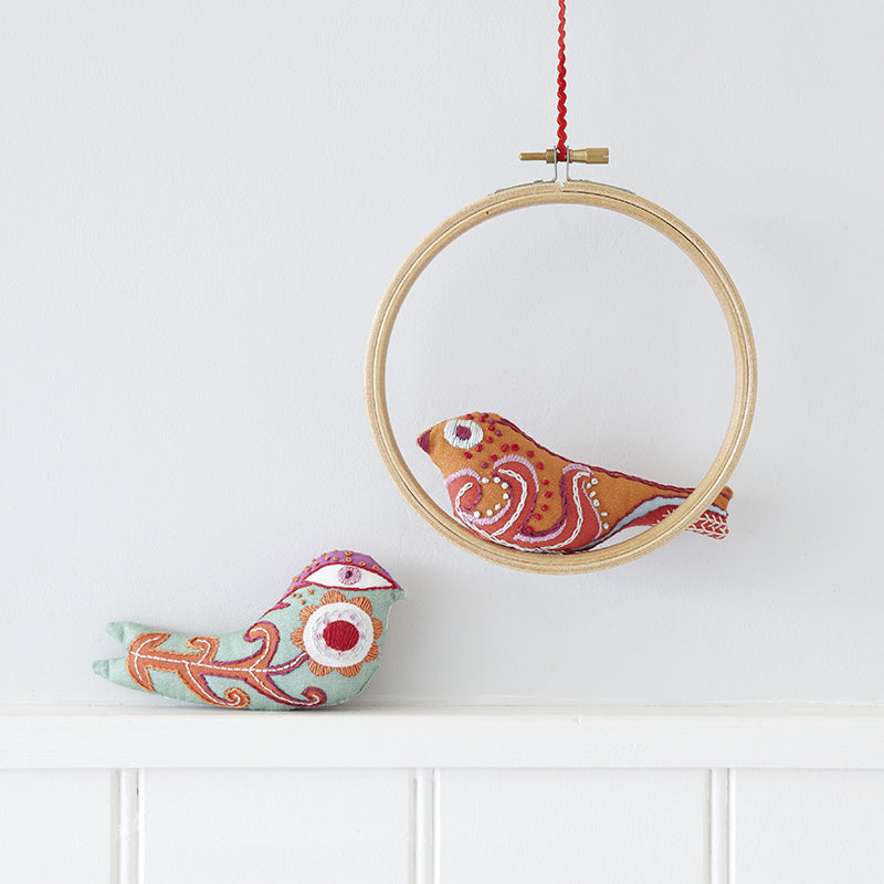 Little Bird Embroidery Kit